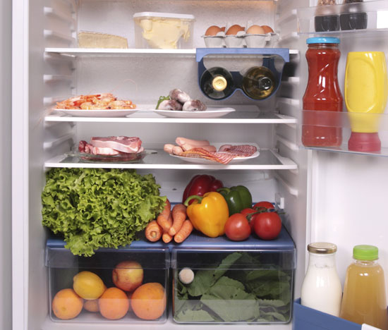 How many of these foods do you have in your fridge?