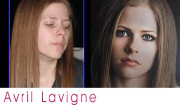 Avril Lavigne Without Makeup!!!
