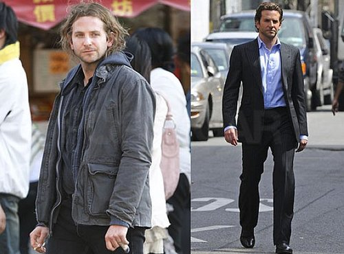 Photos of Bradley Cooper on the Set of The Dark Side Filming in Chinatown NYC