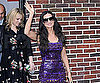 Slide Picture of Demi Moore Leaving David Letterman