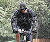 Slide Picture of Josh Duhamel Biking in LA