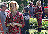 Pictures of January Jones On Mad Men Set