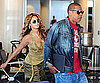 Slide Picture of Beyonce and Jay-Z Leaving LAX After Coachella Music Festival