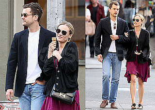 Pictures of Joshua Jackson and Diane Kruger Eating Ice Cream in NYC