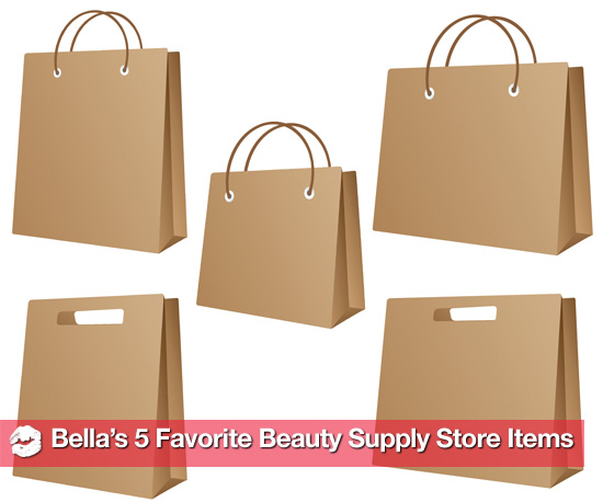 Bella's 5 Favorite Things to Buy at the Beauty Supply Store