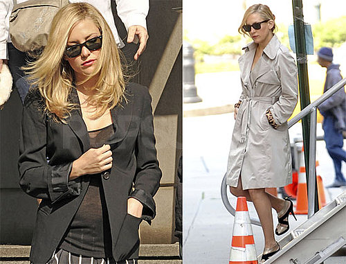 Pictures of Kate Hudson on the NYC Set of Something Borrowed