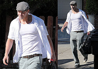 Pictures of Kellan Lutz Going to the Airport
