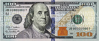 3D Tech Used in New $100 Bills