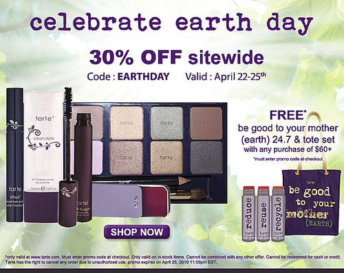 TARTE Earth Day special