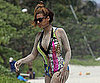 Slide Picture of Beyonce in Swimsuit in Hawaii