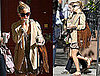 Pictures of Kate Hudson Leaving Her NYC Apartment Heading to the Set of Something Borrowed