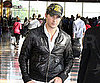 Slide Picture of Peter Facinelli at Airport