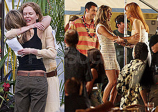 Pictures of Jennifer Aniston, Adam Sandler And Nicole Kidman Filming Just Go With It in Hawaii 2010-04-23 07:00:12