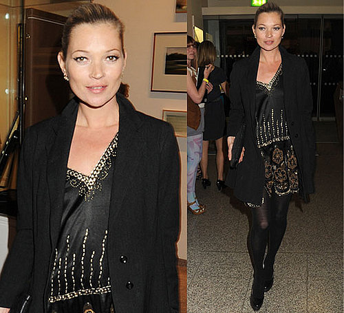 Pictures of Kate Moss at Art Plus Music Party in London