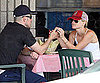 Slide Picture of Reese Witherspoon and Jim Toth at Lunch in LA