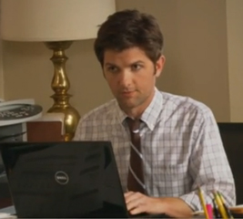 Rob Lowe and Adam Scott on Parks and Recreation Set Video