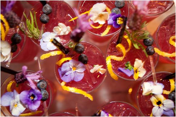 Isn't the garnish the most beautiful one you've ever seen?