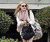 Slide Picture of Dakota Fanning Leaving School in LA