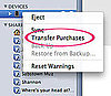 Transfer iPhone App Purchases to iTunes Library