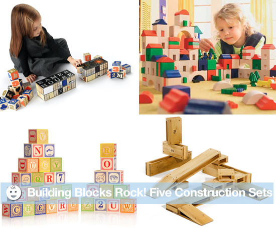 Building Blocks Rock! 5 Construction Sets