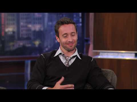 The Back-Up Plan star Alex O'Loughlin talks to Jimmy Kimmel about Australia and Jennifer Lopez