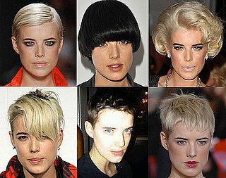 Photos of Agyness Deyn's Hair