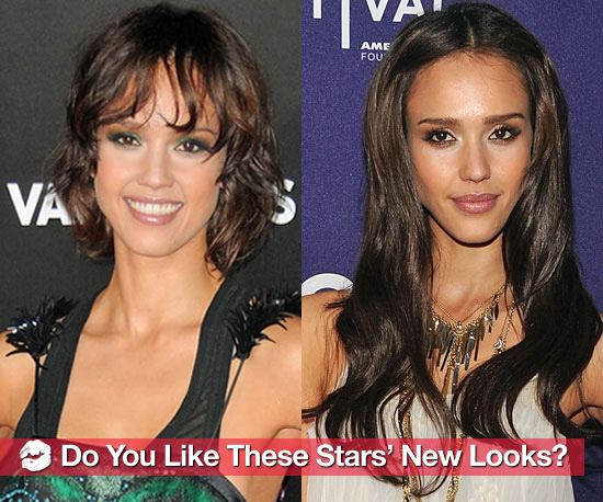 Celebrities' Newest Hair and Makeup Looks