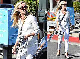 Pictures of Reese Witherspoon Eating Out With Friends in LA