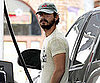 Slide Picture of Shia LaBeouf Pumping Gas in LA
