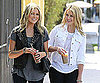 Slide Photo of Stephanie Pratt and Lo Bosworth Grabbing Coffe in LA