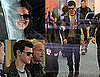 Pictures of Kristen Stewart and Taylor Lautner Arriving in Vancouver Together