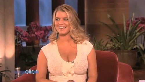 Video of Jessica Simpson on The Ellen DeGeneres Show