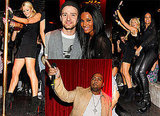 Pictures of Paris Hilton Pole Dancing and Justin Timberlake at Timbalands Birthday Party