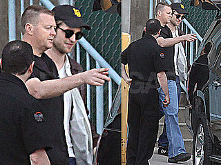 Pictures of Robert Pattinson in Vancouver for Eclipse Reshoots