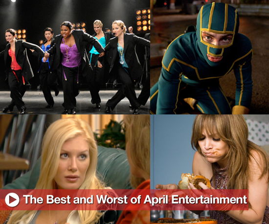 Buzz Backtrack: Best and Worst of April Entertainment