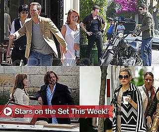 Pictures of Angelina Jolie, Johnny Depp, Tom Hanks, Kate Hudson on Set