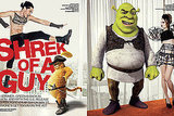 Most Baffling Way to Promote a Movie: Shrek's VMan Spread