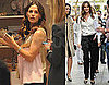 Pictures of Jennifer Garner Shopping and Visiting The Early Show in NYC