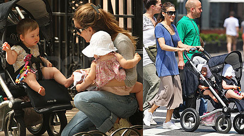 Pictures of Sarah Jessica Parker With Twins Marion And Tabitha in NYC 2010-05-03 07:00:00