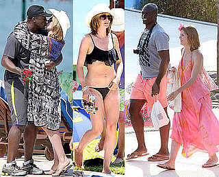 Pictures of Heidi Klum In a Bikini With Seal For Their Wedding Anniversary Trip to Mexico