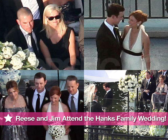 Pics: Reese Witherspoon and Jim Toth Attend the Hanks Family Wedding!