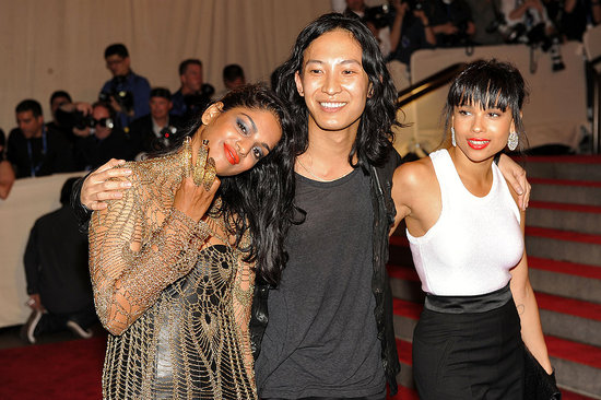 MIA and Zoe Kravitz in Alexander Wang for Gap with the designer