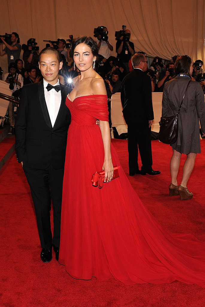 Jason Wu and Camilla Belle in his design