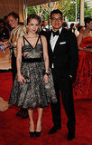Zoe Kazan in Peter Som with the designer