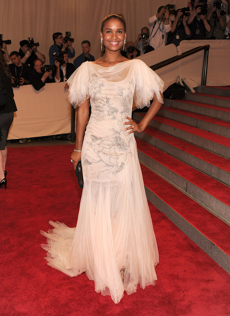 Joy Bryant in Marchesa