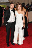 Christopher Bailey and Emma Watson in Burberry
