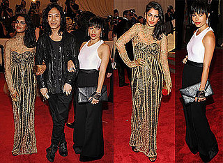 Pictures of Zoe Kravitz, Alexander Wang, and MIA at Costume Institute Gala