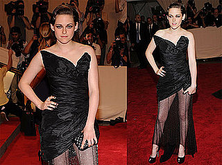 Pictures of Kristen Stewart at the Costume Institute Gala