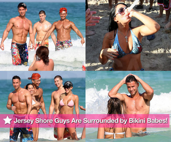 The Jersey Shore Guys Are Surrounded by Bikini Babes and Beer Bongs!