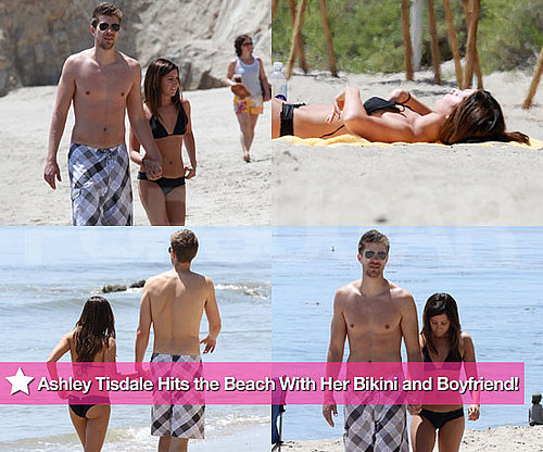Pictures of High School Musical's Ashley Tisdale in a Bikini With Scott Speer